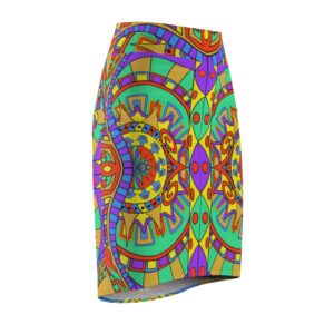 Womens Pencil Skirt Front Sideways Featured