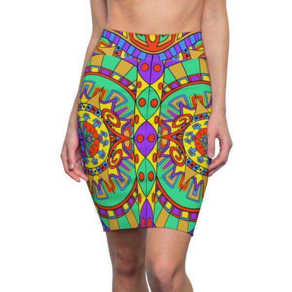Womens Pencil Skirt Front Sideways Featured
