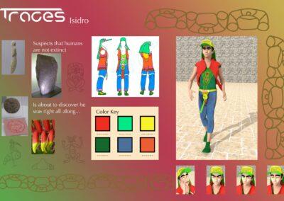 Isidro Ahuatzi – Character Presentation