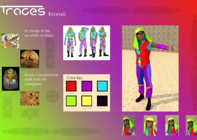 Kronaii Wilkins – Character Design and Introduction