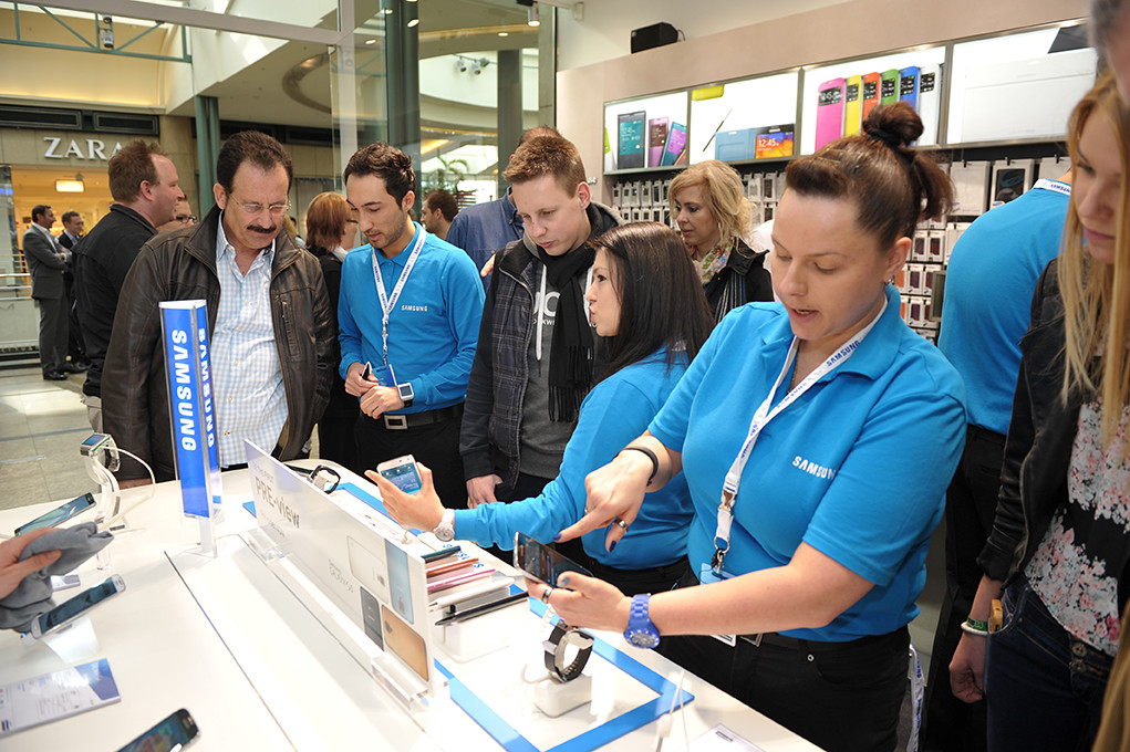 """Markets Driven by Profit - """"Samsung Brings Galaxy S5 and New Gear Devices to Global Market"""" by Samsung Newsroom is licensed under CC BY-NC-SA 2.0"""